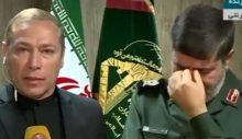 İran Devrim Muhafızları Sözcüsü hem ağladı hem ABD'yi tehdit etti
