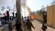İki büyük patlama: Bağdat'ta ABD Büyükelçiliğine saldırı