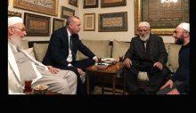 Erdoğan, İsmailağa Vakfı'nı ziyaret etti