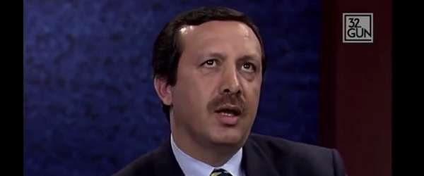 Arşivden çıkan görüntüleri Erdoğan'ı vurdu