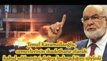 Karamollaoğlu, cemevlerinin ibadethane statüsüne karşı çıktı