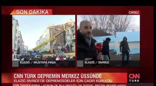 CNN Türk Elazığ'dan 'yandaşlığın dozunu kaçırarak' bildiriyor: Vatandaş mutlu!