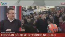 Serdar Akinan: Enkaz altındaki kadın, Erdoğan gelene kadar bekletildi