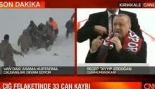 Erdoğan, can pazarının yaşandığı dakikalarda Kırıkkale mitingindeydi!