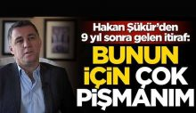 Hakan Şükür: Erdoğan'ın uçağıyla FETÖ etkinliklerine gittik