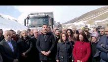 HDP'nin yardımı engellendi: Van için götürülen malzeme şehre sokulmuyor