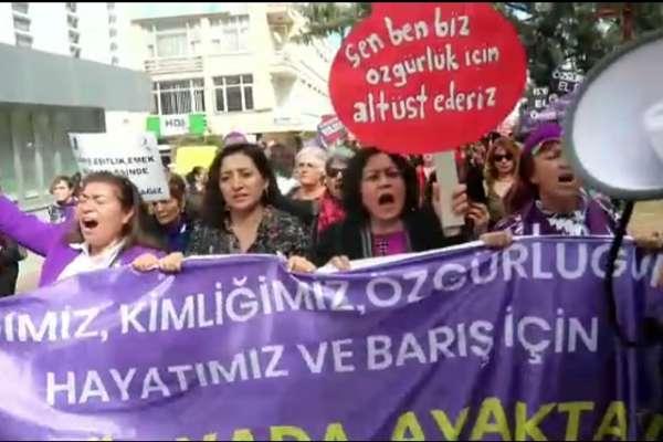 """""""Bu duyduğunuz katledilen kadınların sesidir"""""""