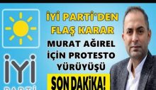 İYİ Parti'den Ağırel için protesto yürüyüşü