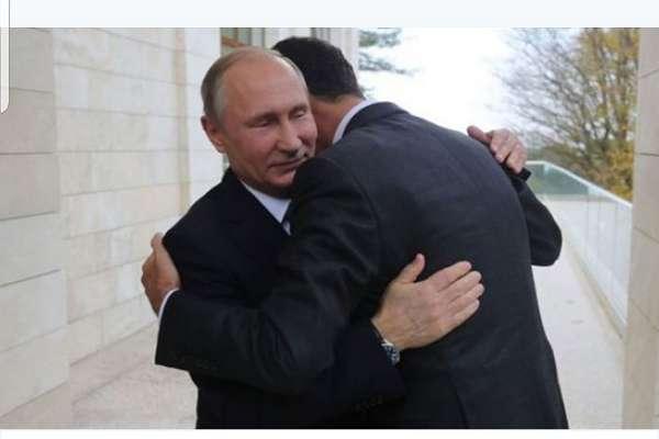 Putin, Esad'ı dış kapıda karşıladı