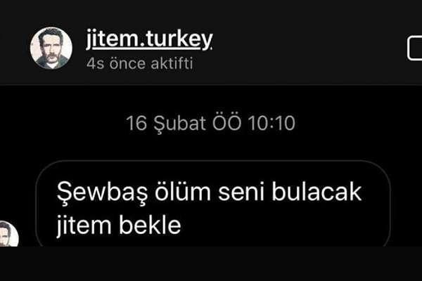 'Jitem' adlı hesaptan, HDP'li 8 vekile tehdit mesajı