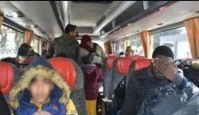 New York Times: Sınırdaki göçmenler otobüslerle İstanbul'a taşındı