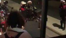 Karantinada torpil! Polis seyretti: Otobüsün önünü kesti, yolcusunu aldı