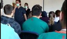 Hastaneden görüntü sızdı: İyi başlamıştık ama umre mahvetti, vaka sayısı 100 değil 1000'lerde
