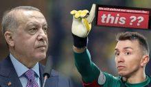 Muslera, Erdoğan'a o fotoğrafla tepki gösterdi