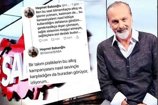 Yandaş Haşmet Babaoğlu, direktifi beklemeyince hesabını kapatmak zorunda kaldı!