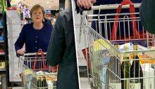 Merkel de karantinaya alındı