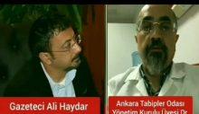Ankara Tabipler Odası'ndan Ali Karakoç: Önümüzdeki iki haftalık dilim bizim için çok önemli