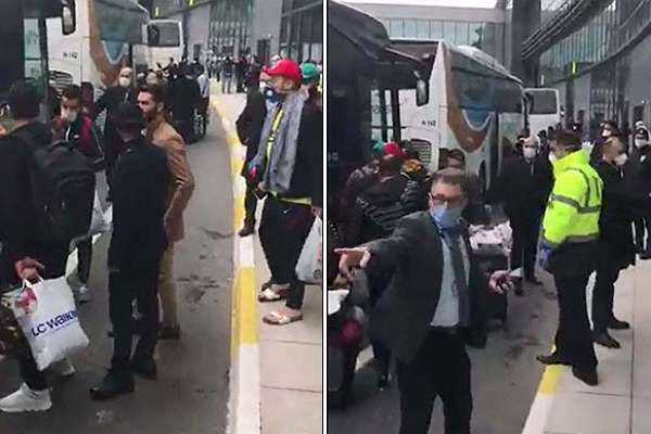 İstanbul Havalimanı'nı birbirine katmışlardı! Salgın nedeniyle ülkesinin kabul etmediği 1500 kişi Karabük'e götürüldü