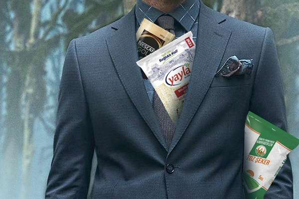 Erkek giyim markası Kiğılı, market ürünü satmaya başladı