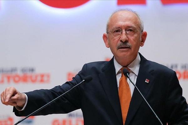Kılıçdaroğlu: Topuğunuz kıçınızda Putin'e koşuyorsunuz