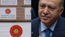 Rusya'nın kolileri yazısız, bayraksız giderken Türkiye'nin yardımları 'Cumhurbaşkanlığı' etiketiyle gönderildi