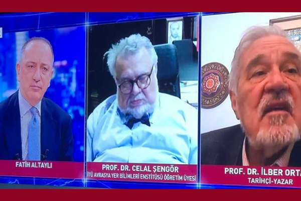 Prof. Dr. Celal Şengör canlı yayın esnasında uyuyakaldı