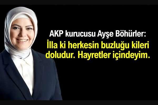 AKP Kurucularından Ayşe Böhürler vatandaşın haline güldü: 2 günde kimse aç kalmaz, bir Türk evinde, illa ki buzluğu, kileri doludur