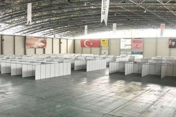 CHP'li belediyenin açtığı sahra hastanesi mühürlendi