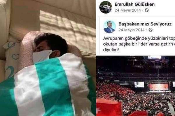 İsveç'ten özel uçakla getirilen Emrullah Gülüşken AKP üyesi çıktı!