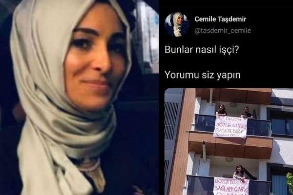 Ekonominin durumunu çöp tenekelerinden anlayan AKP'li Cemile Taşdemir'in 'işçi algısı' gündem oldu