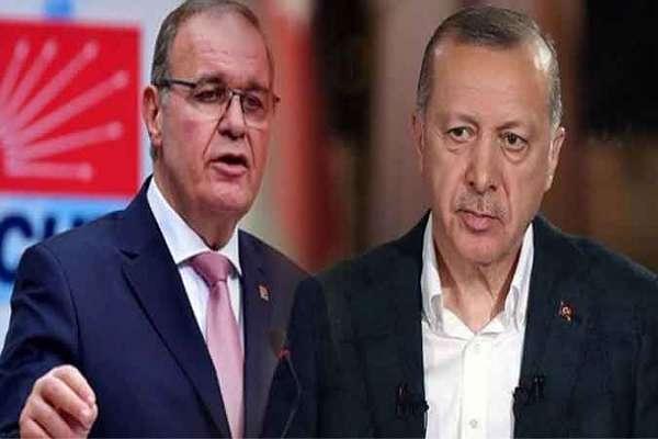 CHP'li Faik Öztrak'tan Erdoğan'a yanıt: Ateş olsan cürmün kadar yer yakarsın