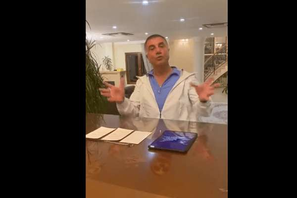Sedat Peker, Damat Berat'tan özür diledi: FETÖ'cülerin dolduruşuna geldim