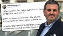 'Bir mangayı donatacak kadar silahım var' diyen AKP'li Karaosmanoğlu: Deneyeceğimiz çok fantezi var haberiniz olsun