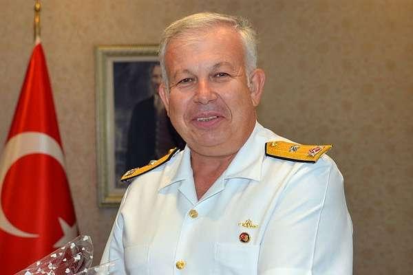 Erdoğan'ın görevini değiştirdiği Tümamiral Cihat Yaycı istifa etti