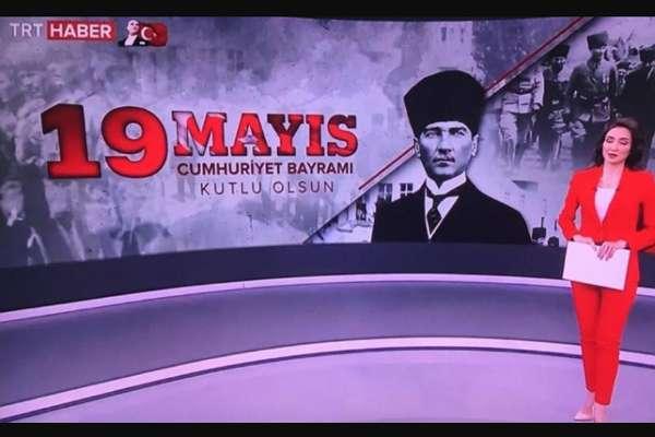 TRT'den tarihi 'hata': '19 Mayıs Cumhuriyet Bayramı'