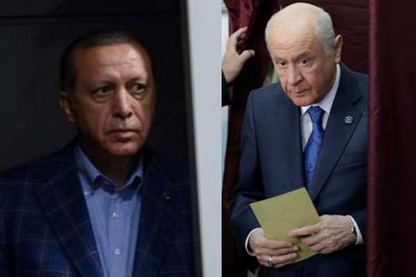 Bahçeli'nin seçim kanununda değişiklik teklifine AKP'den olumlu yanıt!