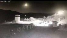 Türkiye'ye meteor düştü