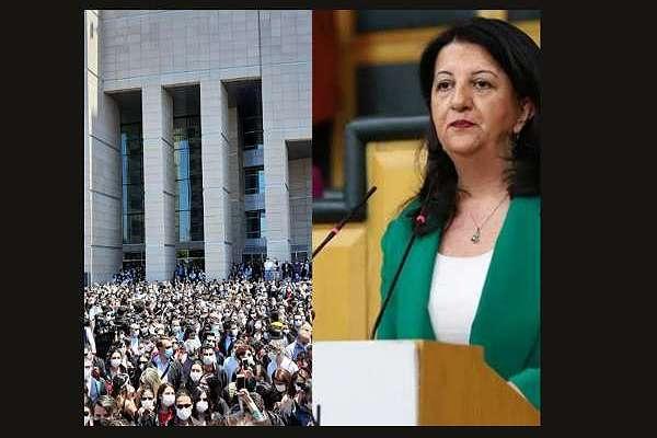 Pervin Buldan: HDP olarak 'savunmanın' haklı mücadelesinin yanındayız