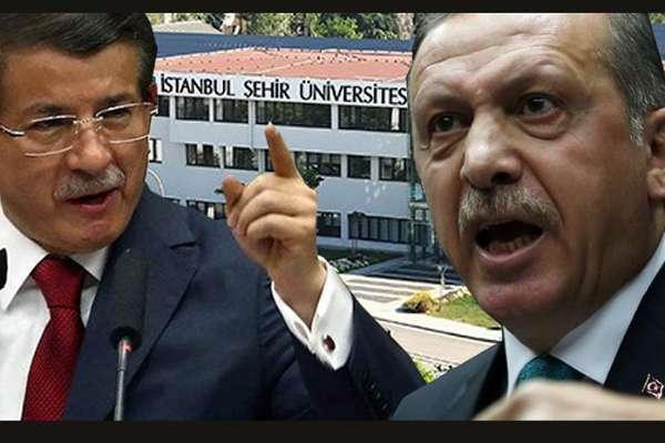 Davutoğlu'ndan Erdoğan'a Şehir Üniversitesi tepkisi: Siyasi kini engel tanımıyor