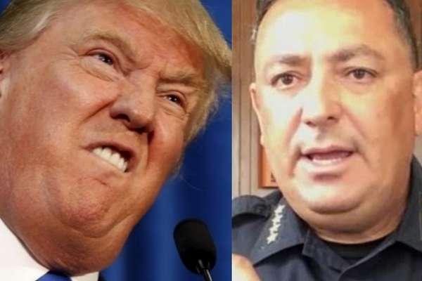 ABD'de Polis Şefi, Trump'a çağrıda bulundu: 'Yapıcı bir sözünüz yoksa çenenizi kapatın'