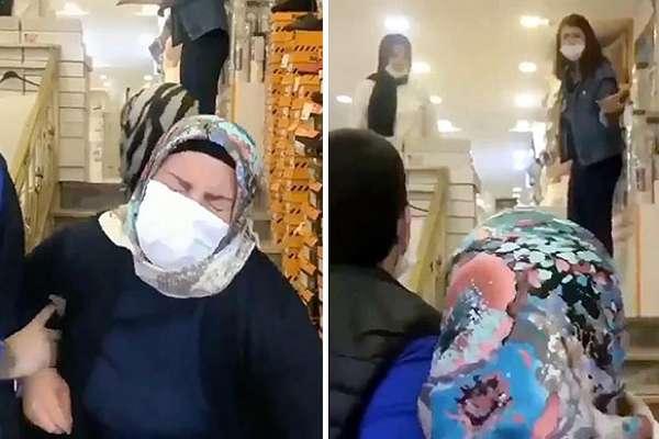 Kızı merdivenden itmişti! Kadın kızından değil, görüntüyü çekenden şikayetçi oldu