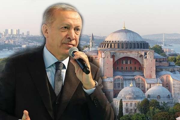 Selvi'nin izlenimine göre Erdoğan, Ayasofya konusunda 'bu kez' ciddi!