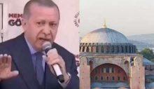"""Arşiv: Erdoğan, Ayasofya için ne demişti: """"Bunlar tezgah!"""""""