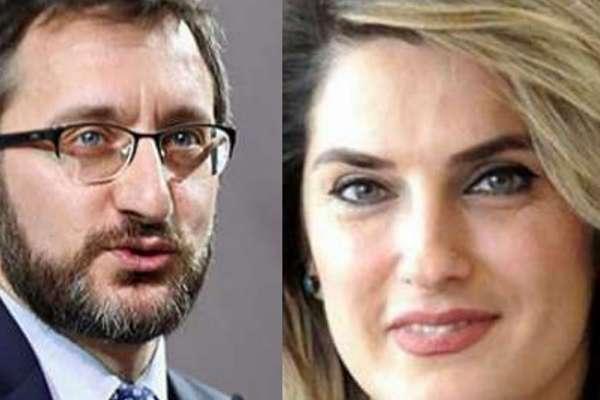 """Keşke susmaya devam etseydiniz! Fahrettin Altun'dan """"Başak Demirtaş"""" açıklaması"""