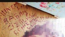 Ayrılmak istediği eşi tarafından kurşunlanan kadın kendi kanıyla ailesine not bıraktı: Üzülmeyin, kurtuldum!