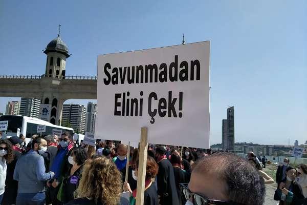 Ankara'ya yürümek isteyen Baro başkanlarına polis müdahalesi