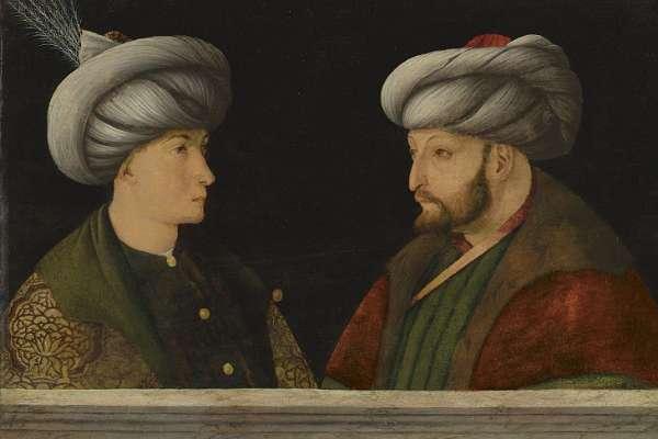 Fatih Sultan Mehmet'in portresini İBB aldı