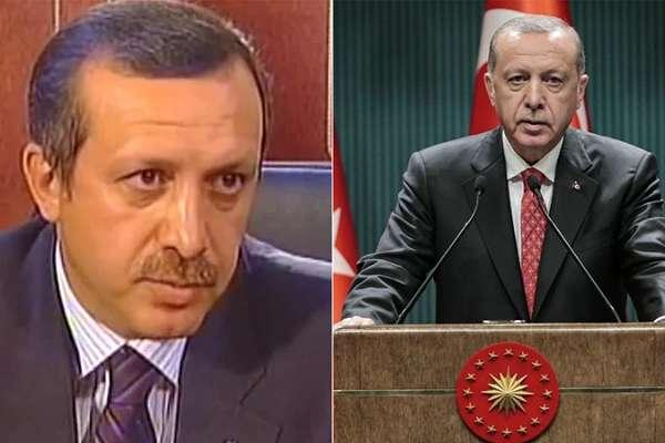 """Bir Erdoğan klasiği: 18 yıl önce """"Eşcinsellerin yasal güvence altına alınmaları şart""""; bugün """"Lanetlenmiş, sapkınlıklar"""""""