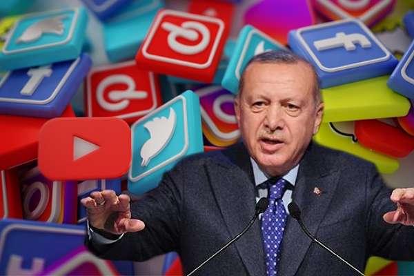 """Erdoğan """"Dislike'ların"""" intikamını almaya hazırlanıyor: Sosyal medya platformları tamamen kaldırılmalı"""