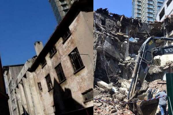 Bomonti Hepimizin İnisiyatifi: Kültür varlığı olan tarihi binaların yıkımına dur diyoruz!